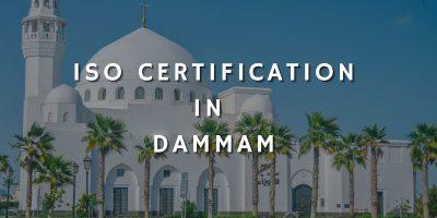 ISO Certification In Dammam ISO Certification