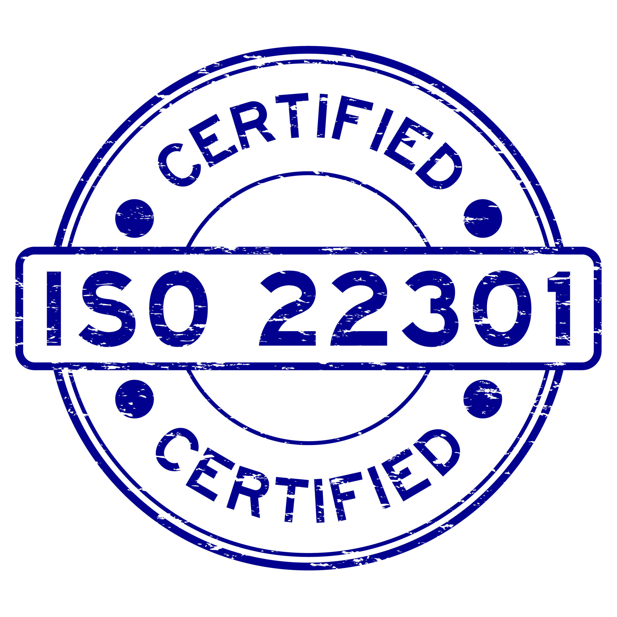 ISO 22301 Certification ISO Certification